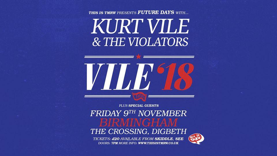 Kurt Vile – 9/11/18 – SOLD OUT
