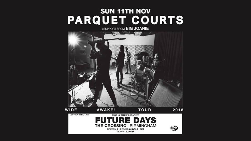 Parquet Courts – 11/11/18 – SOLD OUT