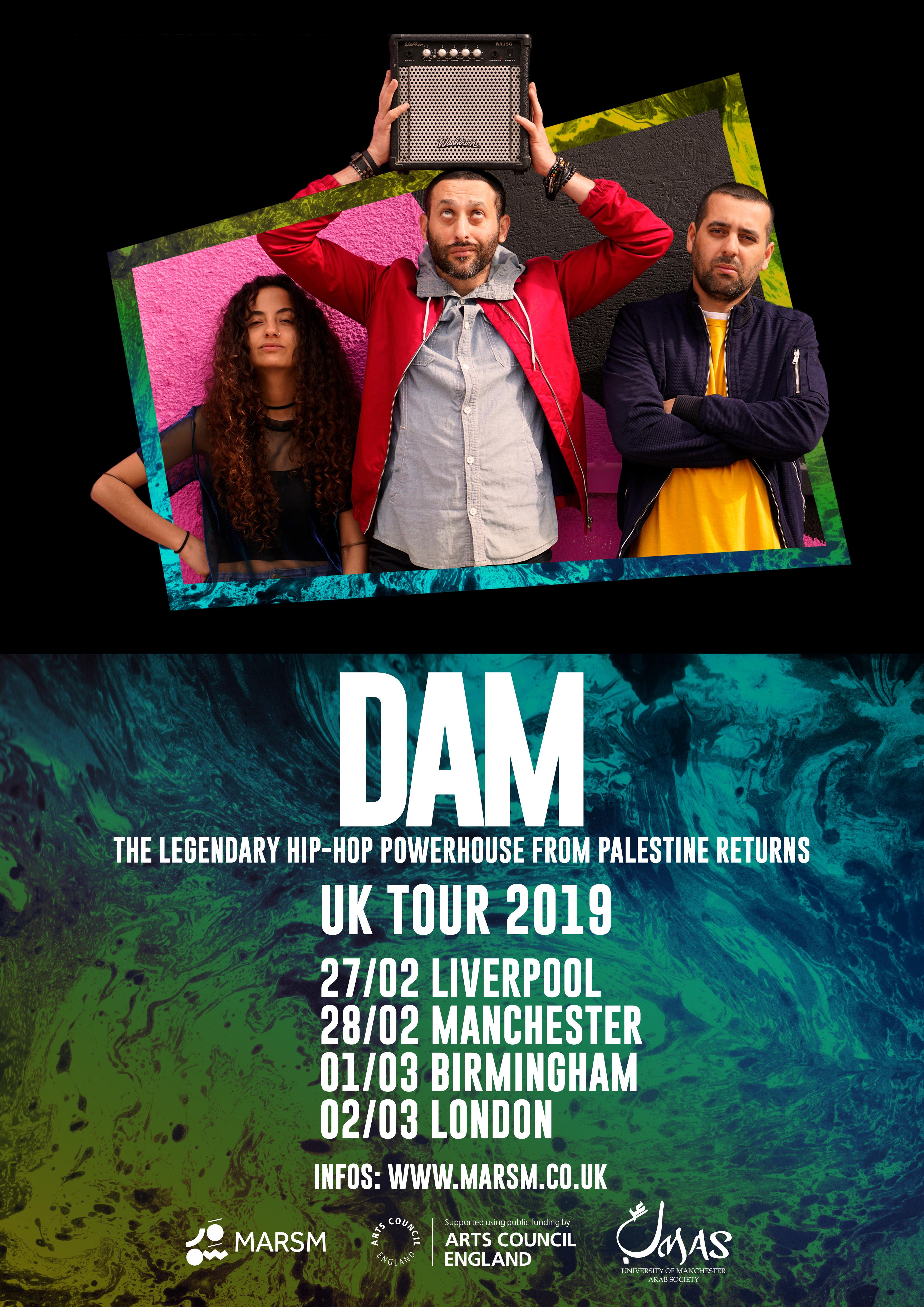 DAM – Live in Birmingham
