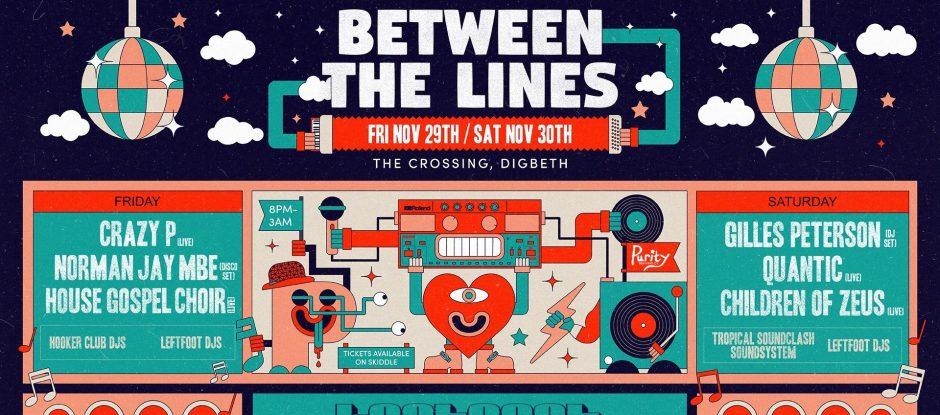 Between The Lines - 29/11/19 & 30/11/19
