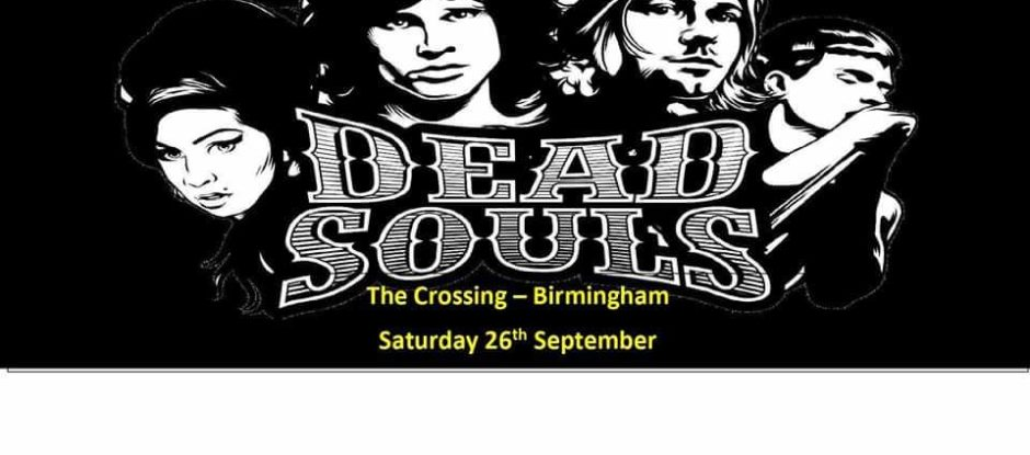 Dead Souls 2 Alternative Tribute Festival - 26/09/20